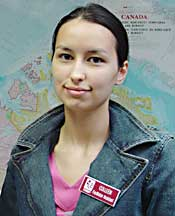 Coleen McKay - 1 of 2 first norhtern/arctic women to qualify to teach  at post secondary insitutions in Canada